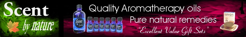 Aromatherapy Oils from Scent By Nature - Header.